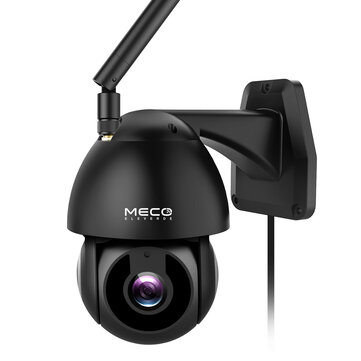 MECO 1080P HD WiFi Security IP Camera Waterproof  with Pan/Tilt 360 View Night Vision 2-Way Intercom Motion Detection Alert Cloud Service